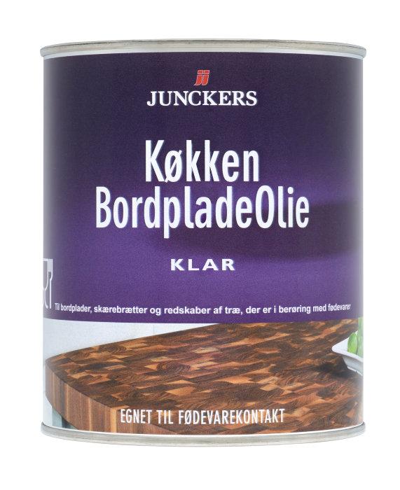 Junckers køkken bordpladeolie 0,57 liter