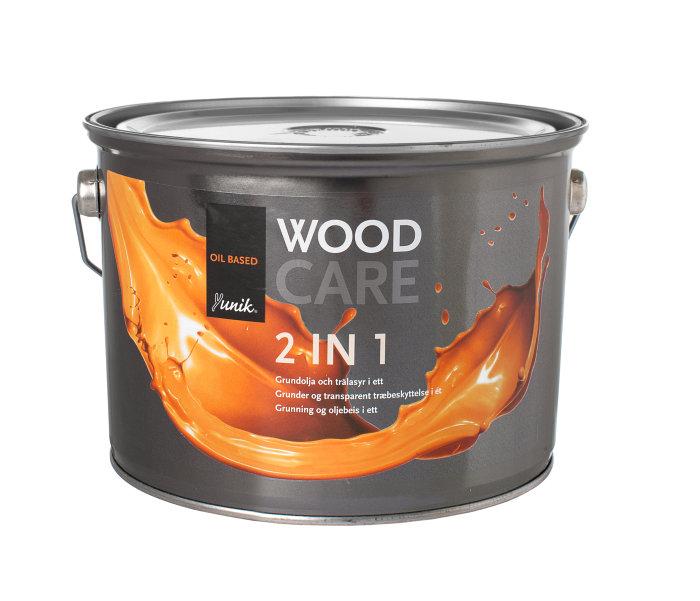 Träfärg Yunik Wood Care Brun 3 L