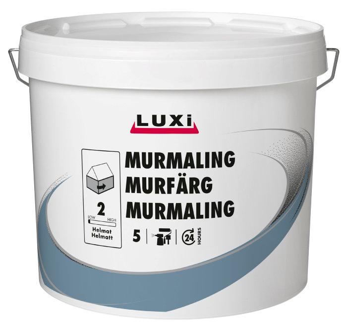 Murmaling kalkhvid 5 liter - Luxi
