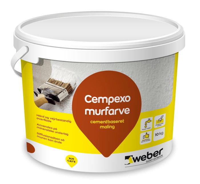 Cempexo murmaling hvid - 10 kg