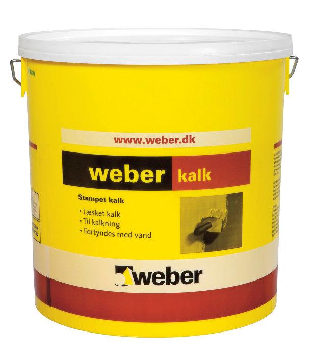 Weber stampet kalk - 15 liter
