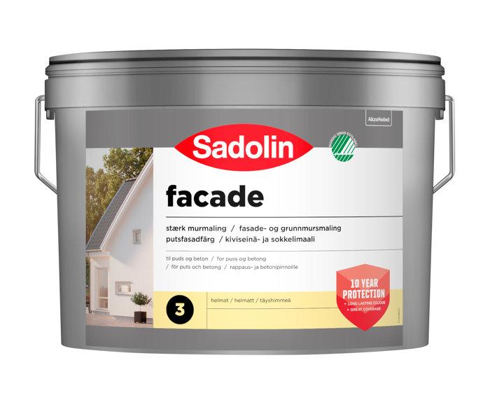 Sadolin Fasademaling Base Black 2,325 liter