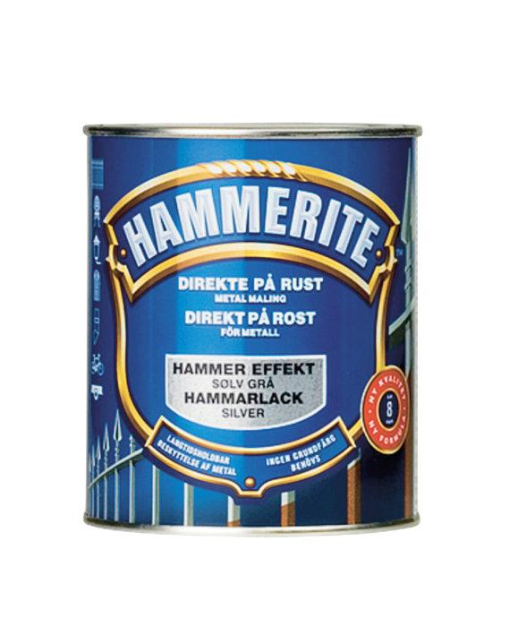 Hammerite hammer sølv 750 ml