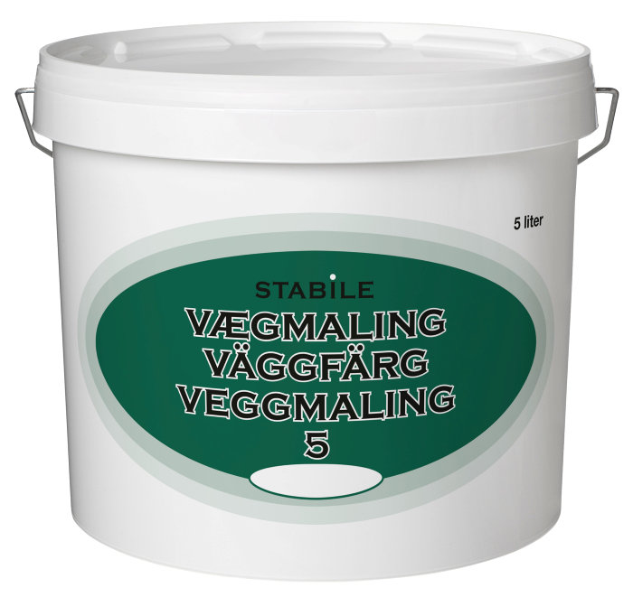 Vægmaling glans 5 klitgrå 5 liter - Stabile
