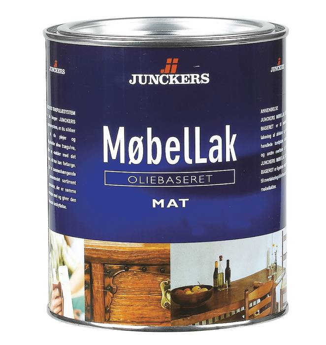 Junckers MøbelLak mat oliebaseret 0,75 liter