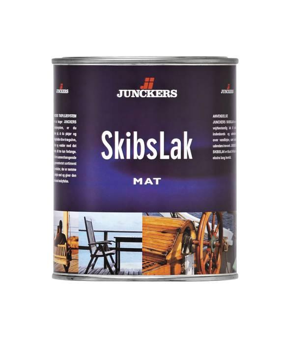 Junckers SkibsLak mat 0,75 liter