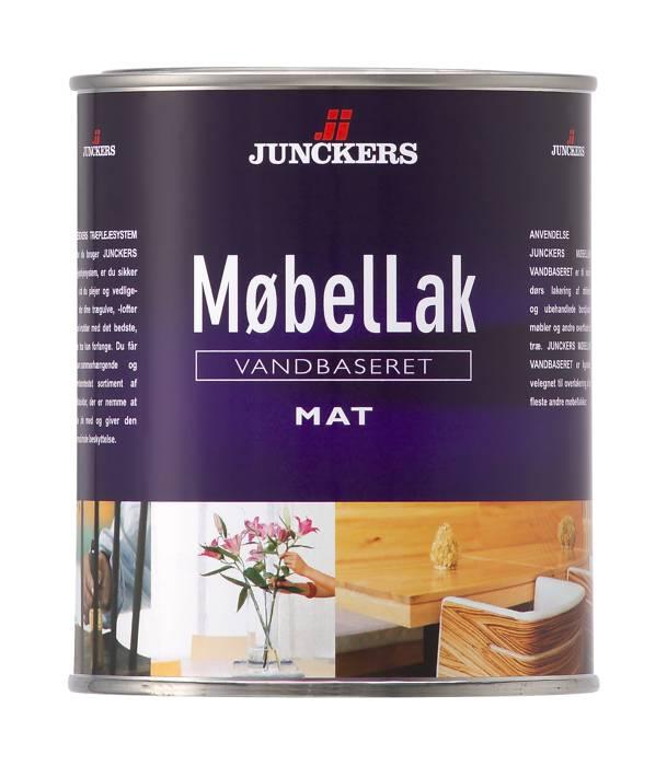 Junckers Møbellak mat vandbaseret 0,75 liter