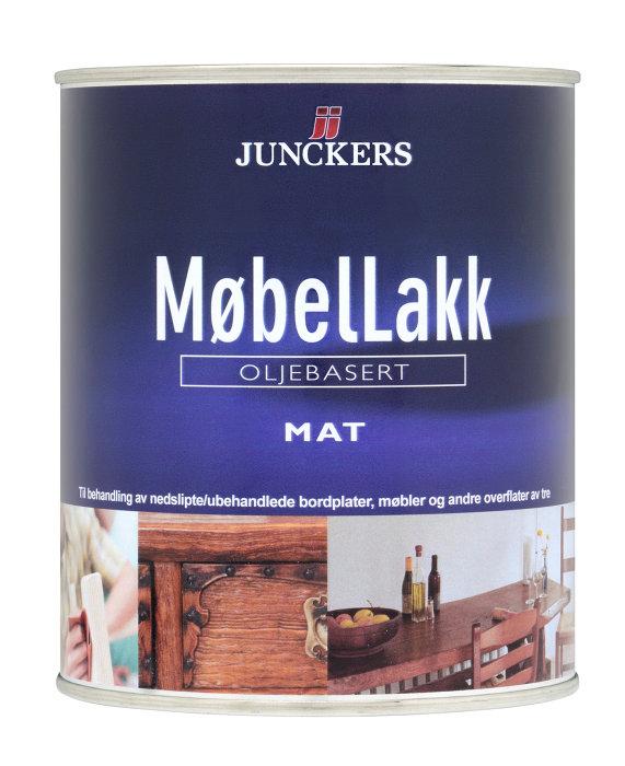 Junckers møbellakk matt 0,75l