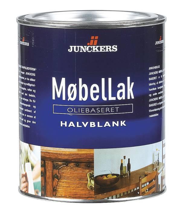 Junckers MøbelLak halvblank oliebaseret 0,75 liter