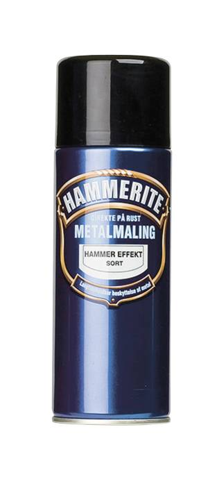 Hammerite metalmaling sort hammereffekt 400 ml