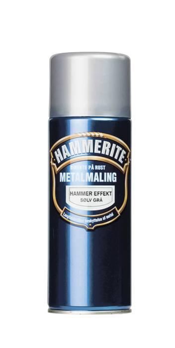 Hammerite metalmaling sølv hammereffekt 400 ml
