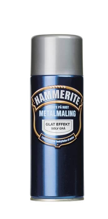 Hammerite metalmaling sølv glat 400 ml