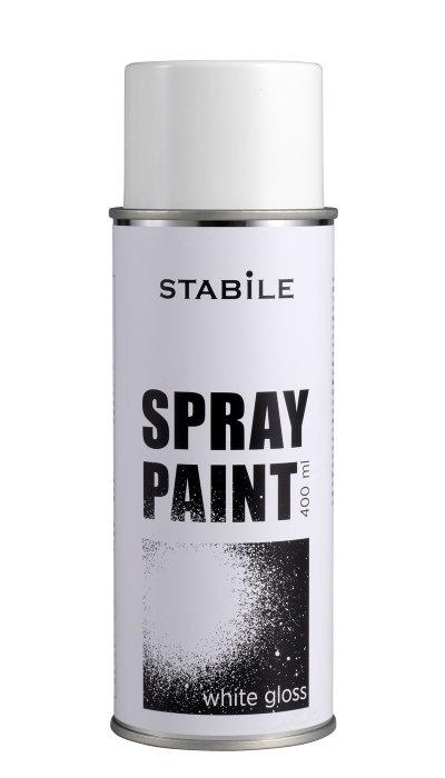 Sprayfärg Vit Blank STABILE