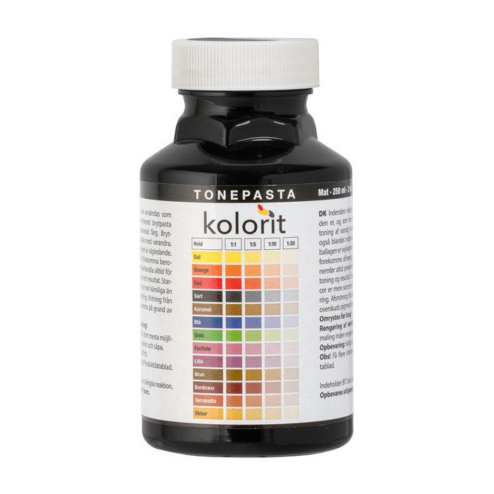 Tonepasta sort 0,25 liter - Kolorit