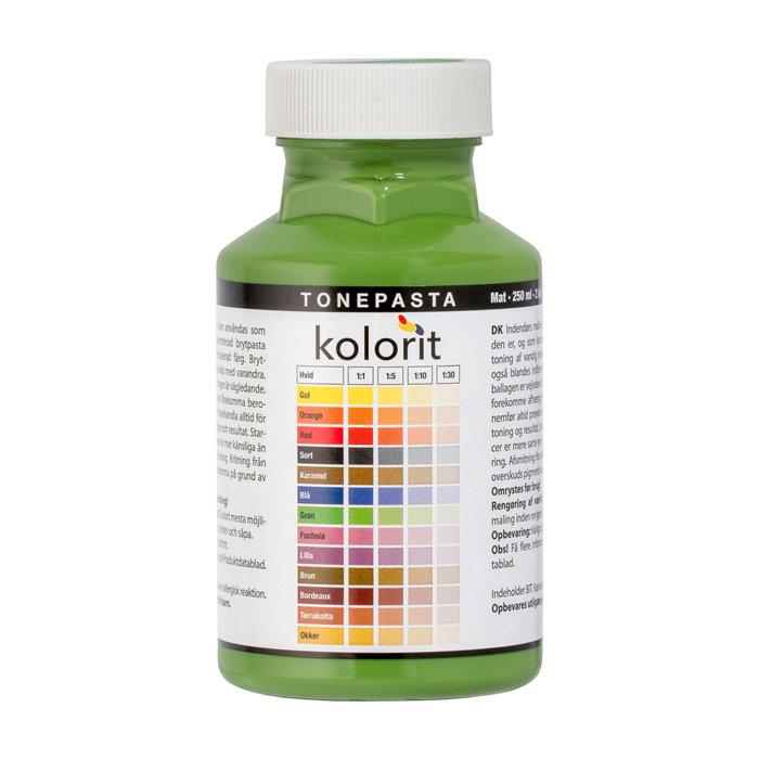 Tonepasta grøn 0,25 liter - Kolorit