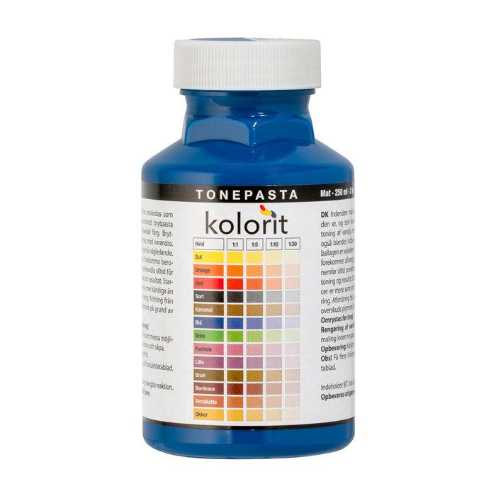 Fargepasta Blå 0,25 liter - Kolorit