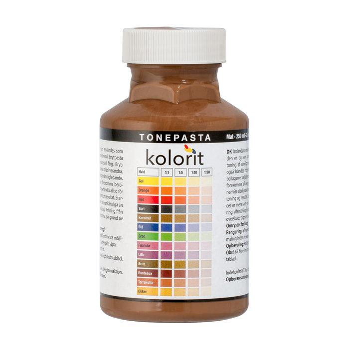 Tonepasta karamel 0,25 liter - Kolorit