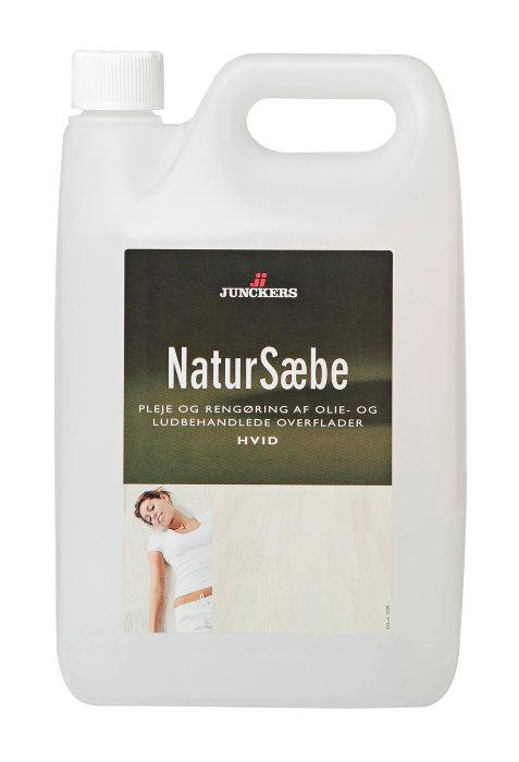 Junckers natursæbe hvid 2,5 liter
