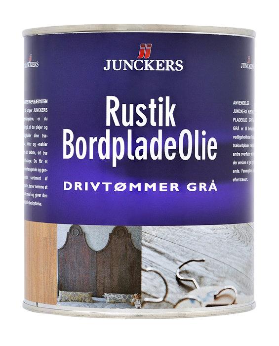 Junckers Rustik Bordpladeolie grå 0,75 liter