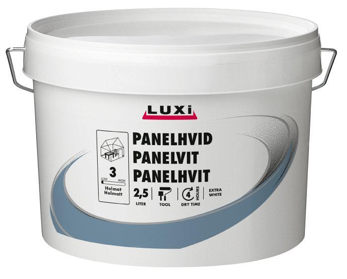 Luxi panelhvit eks. hvit 2,5l