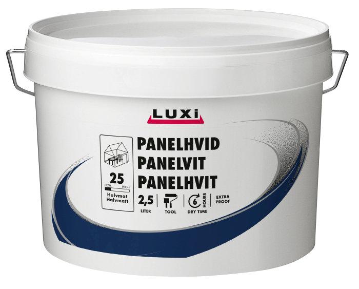 Panelhvid ekstra robust 2,5 liter - Luxi