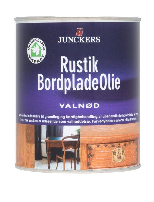 Junckers Rustik Bordpladeolie - Valnød