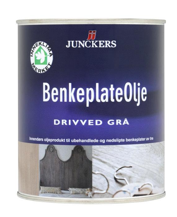 Junckers benkeplateolje grå 0,75 L