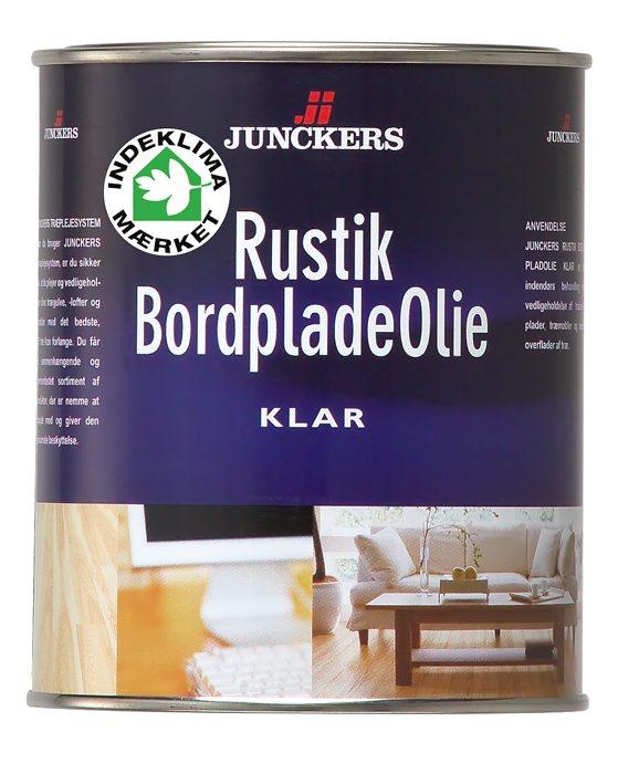Junckers Rustik Bordpladeolie klar 0,75 liter