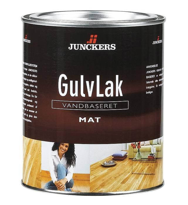 Junckers Gulvlak mat vandbaseret 0,75 liter