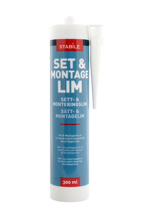 Set- & montagelim 300 ml - Stabile