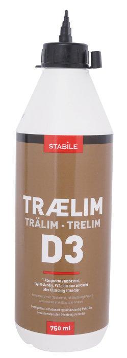 Trælim 750 ml - Stabile