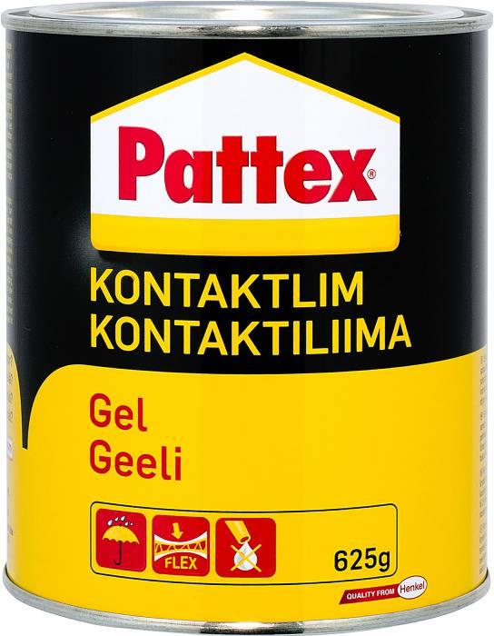 Pattex kontaktlim gel 625 gram
