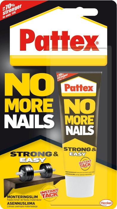 Pattex No More Nails montagelim 40 ml