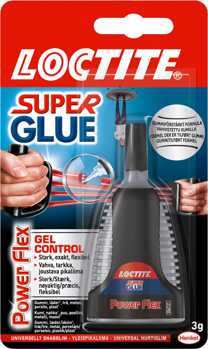 Loctite Super Glue Power Flex Control
