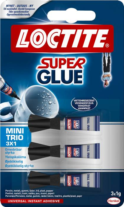 Loctite Super Glue Mini Trio