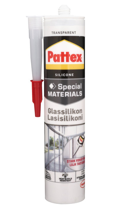 Pattex glassilikone klar 280 ml