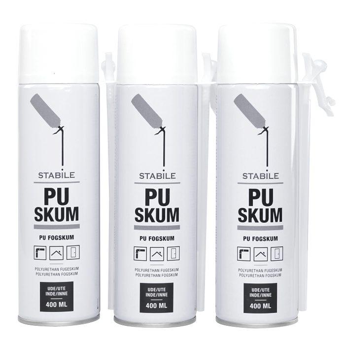 PU fugeskum 3 x 400 ml - Stabile