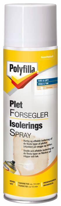 Polyfilla pletforsegler isoleringsspray 500 ml