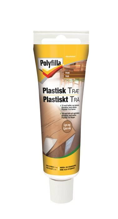 Polyfilla plastisk træ lys eg 50 ml