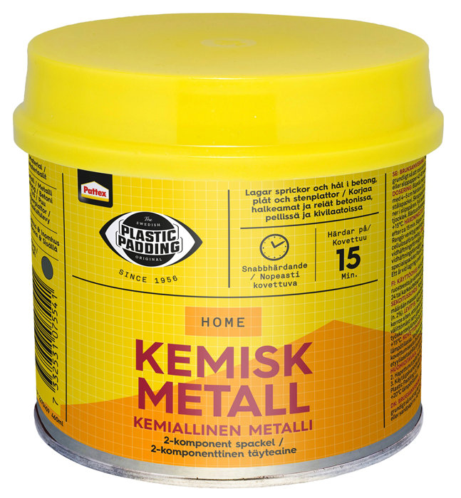 Plastic Padding kemisk metal 560 ml.