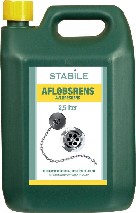 Afløbsrens 2,5 liter - Stabile