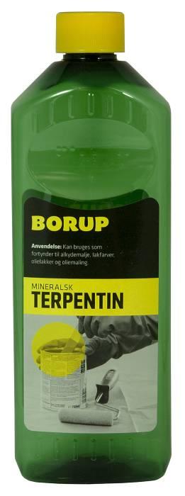Borup mineralsk terpentin 0,5 liter