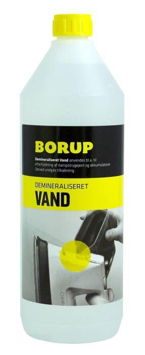 Borup demineraliseret vand 1 liter