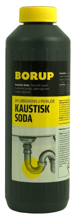 Borup kaustisk soda 1 liter