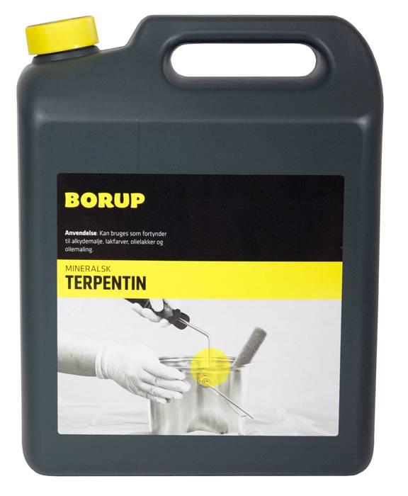Borup mineralsk terpentin 5 liter