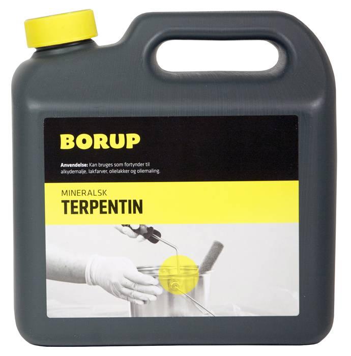 Borup mineralsk terpentin 2,5 liter