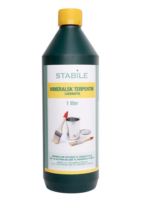 Mineralsk terpentin 1 liter - Stabile