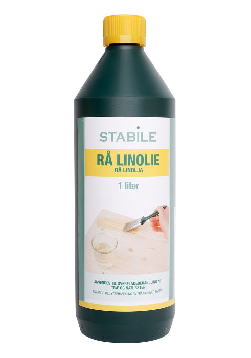 Rå linolie 1 liter - Stabile
