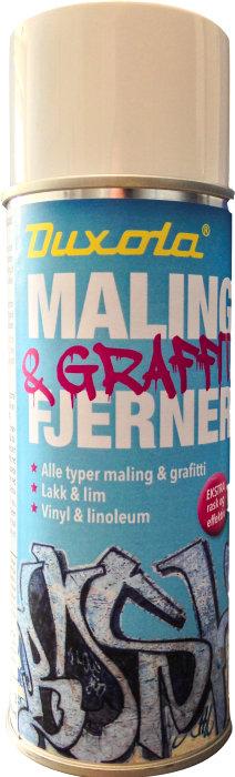 Graffiti- og malingsfjerner