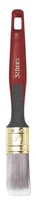 Ovalpensel silk tip 30 mm - Stiwex